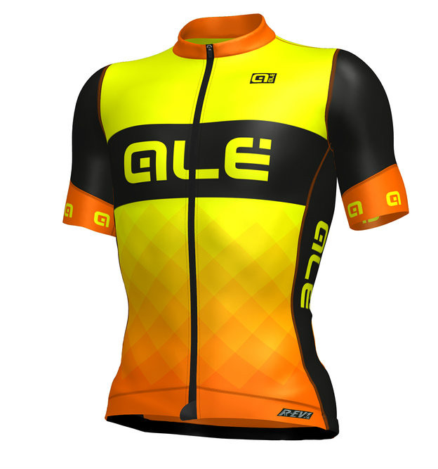 ALE Rumble R-EV1 Orange Black Jersey
