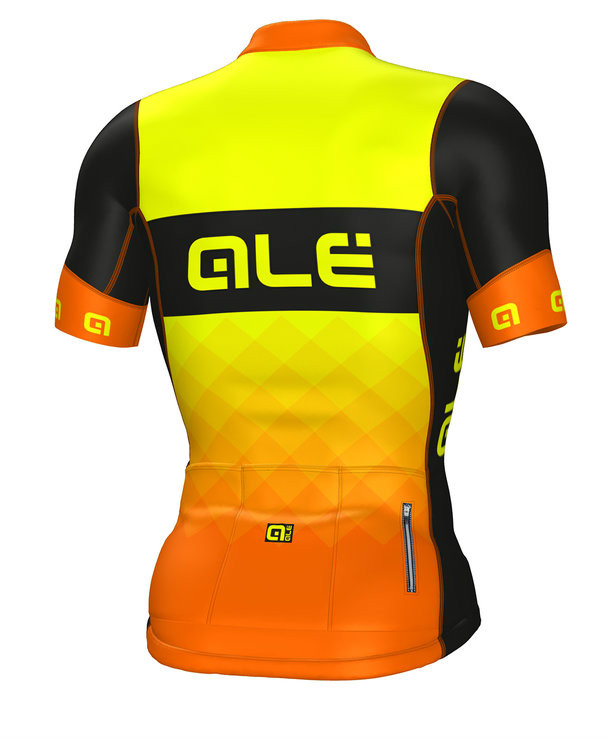 ALE Rumble R-EV1 Orange Black Jersey Rear