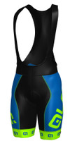 ALE Arcobaleno Blue Green Bib Shorts