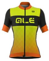 ALE Rumbles Women R-EV1 Yellow Orange Fluo Jersey