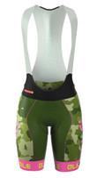 ALE Camo Women PRR Green Fluo Bib Shorts