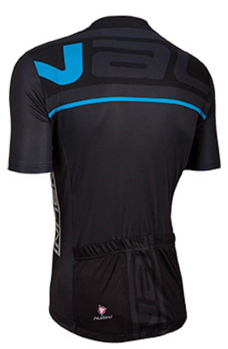 Nalini Speed Blue Black Jersey Rear