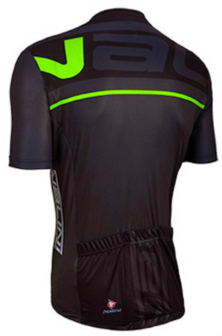 Nalini Speed Green Black Jersey Front
