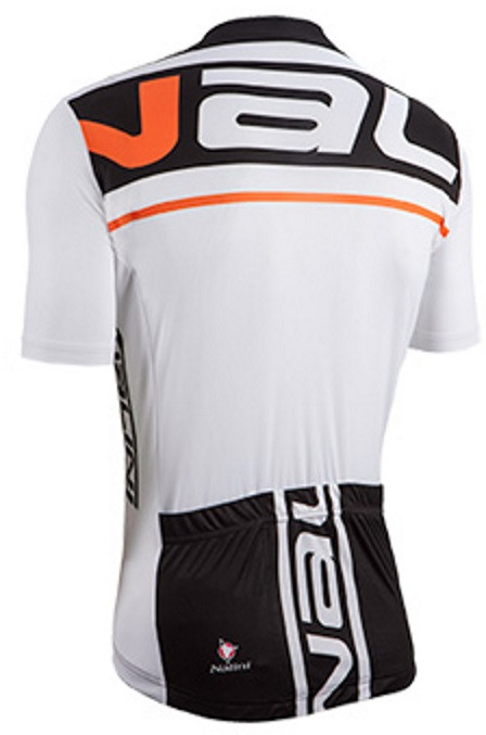 Nalini Speed Orange White Jersey Back
