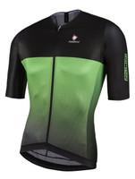 Nalini Black TI Green Jersey