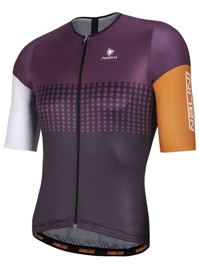 Nalini Velodromo Orange Purple Jersey