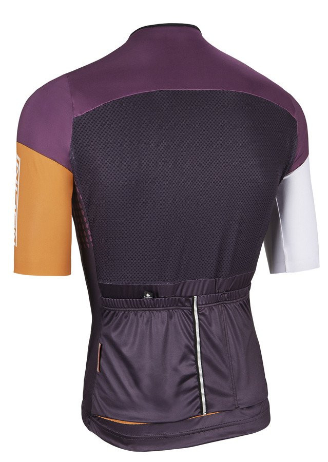 Nalini Velodromo Orange Purple Jersey Rear