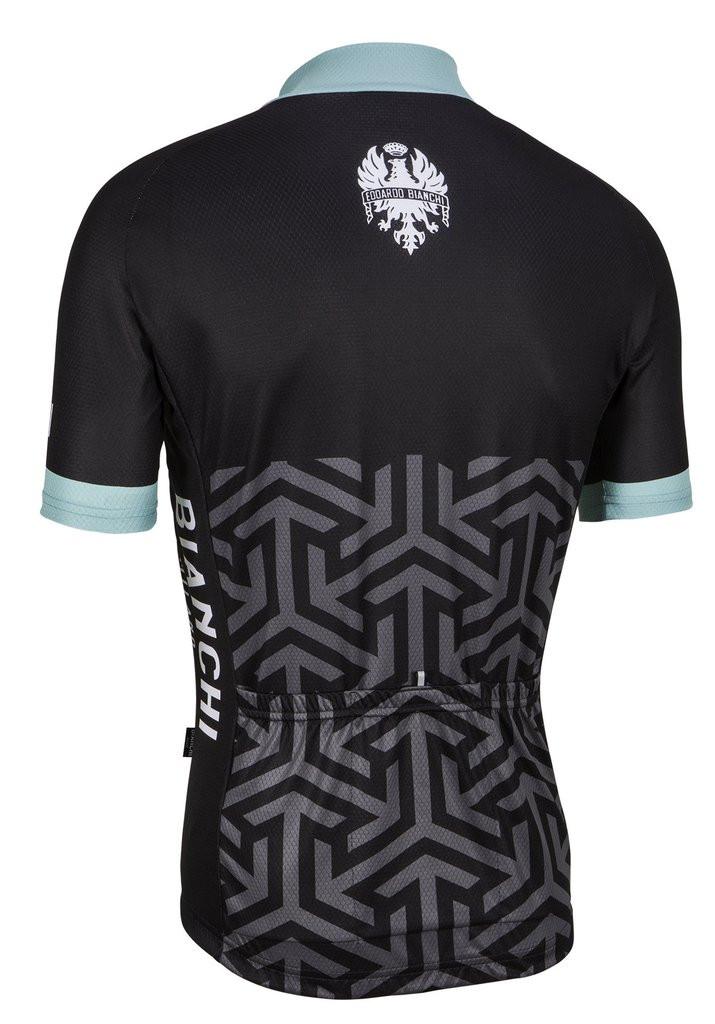Bianchi Milano Pontesei Black Jersey 5f0f885c5