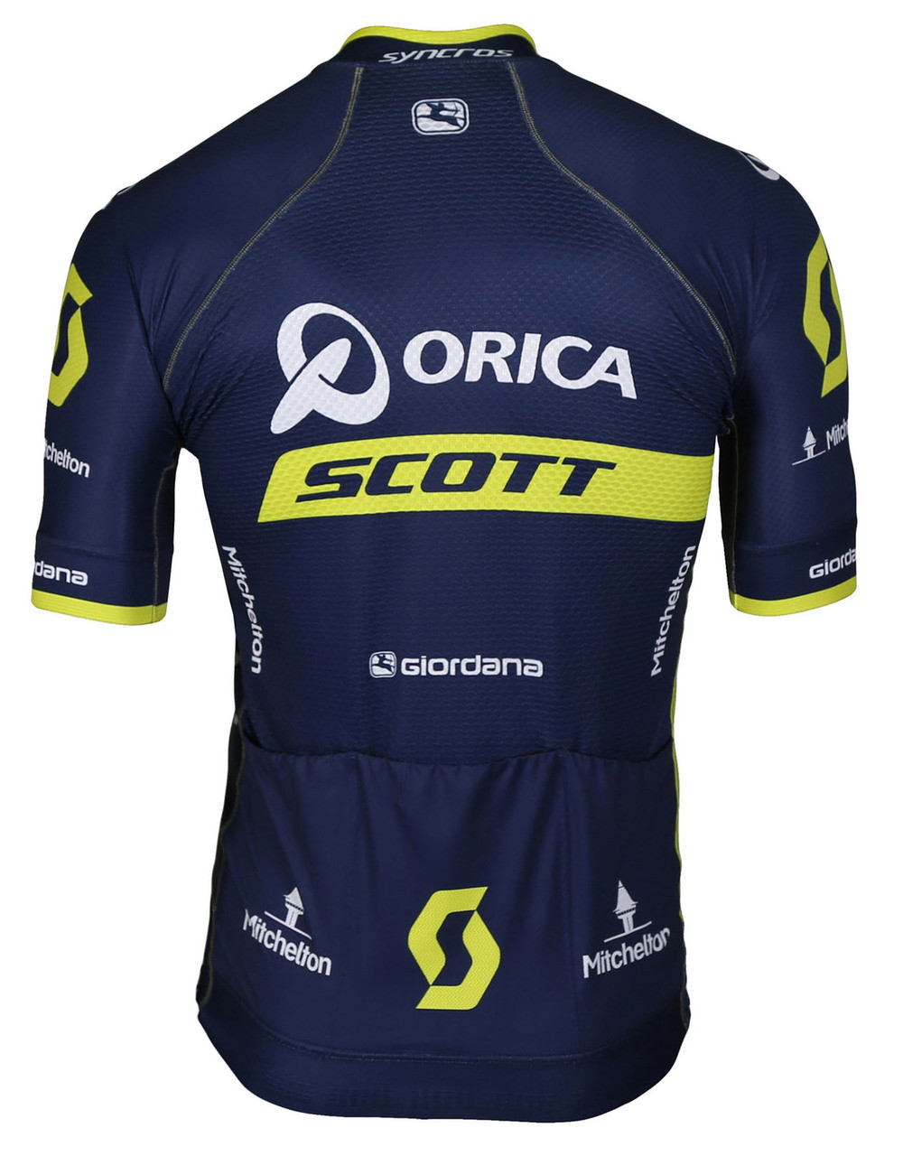 2017 Orica Scott FRC Pro FZ Jersey Rear
