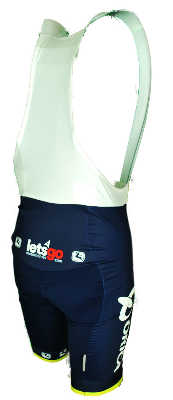 52521fd15 ... 2017 Orica Scott Vero Pro Bib Shorts Rear