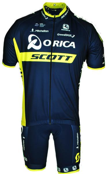 2017 Orica Scott Vero Pro FZ Jersey