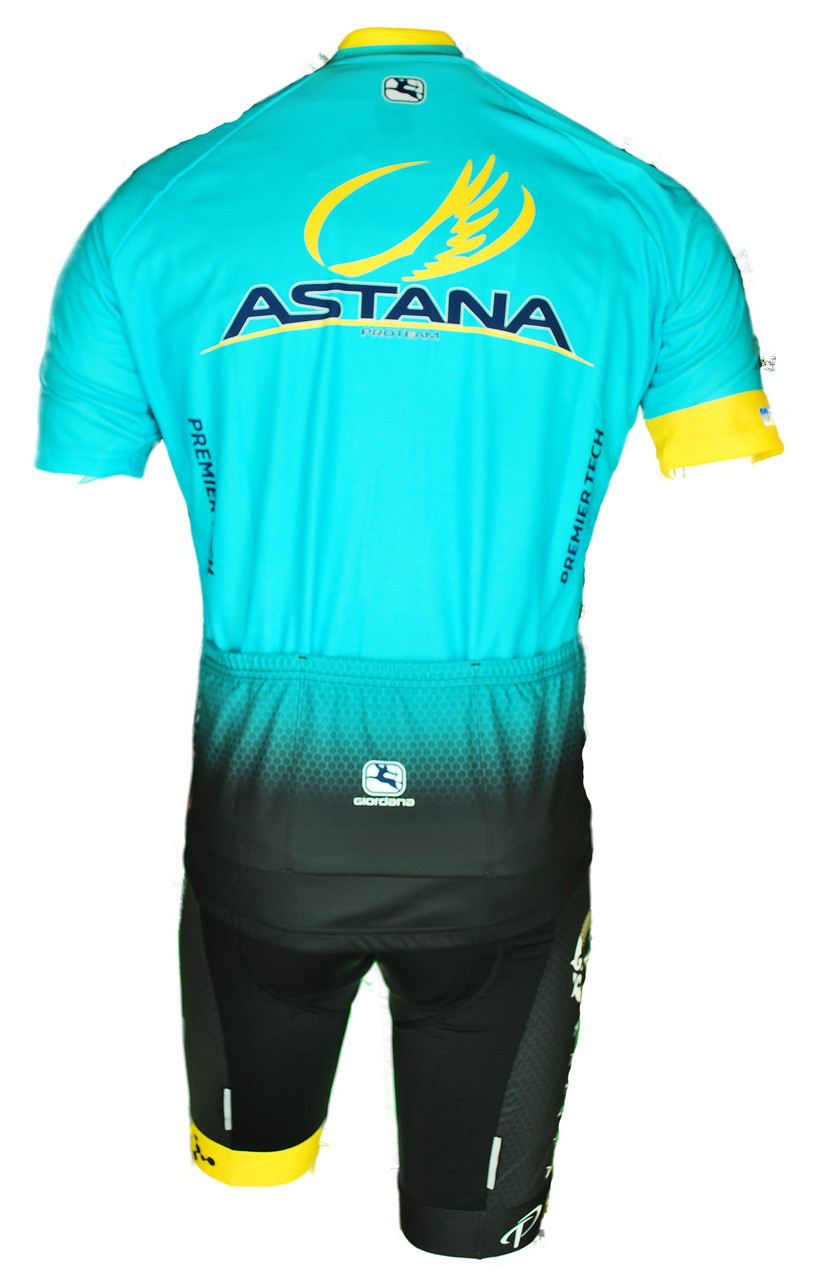 2017 Astana Vero Pro FZ Jersey Rear