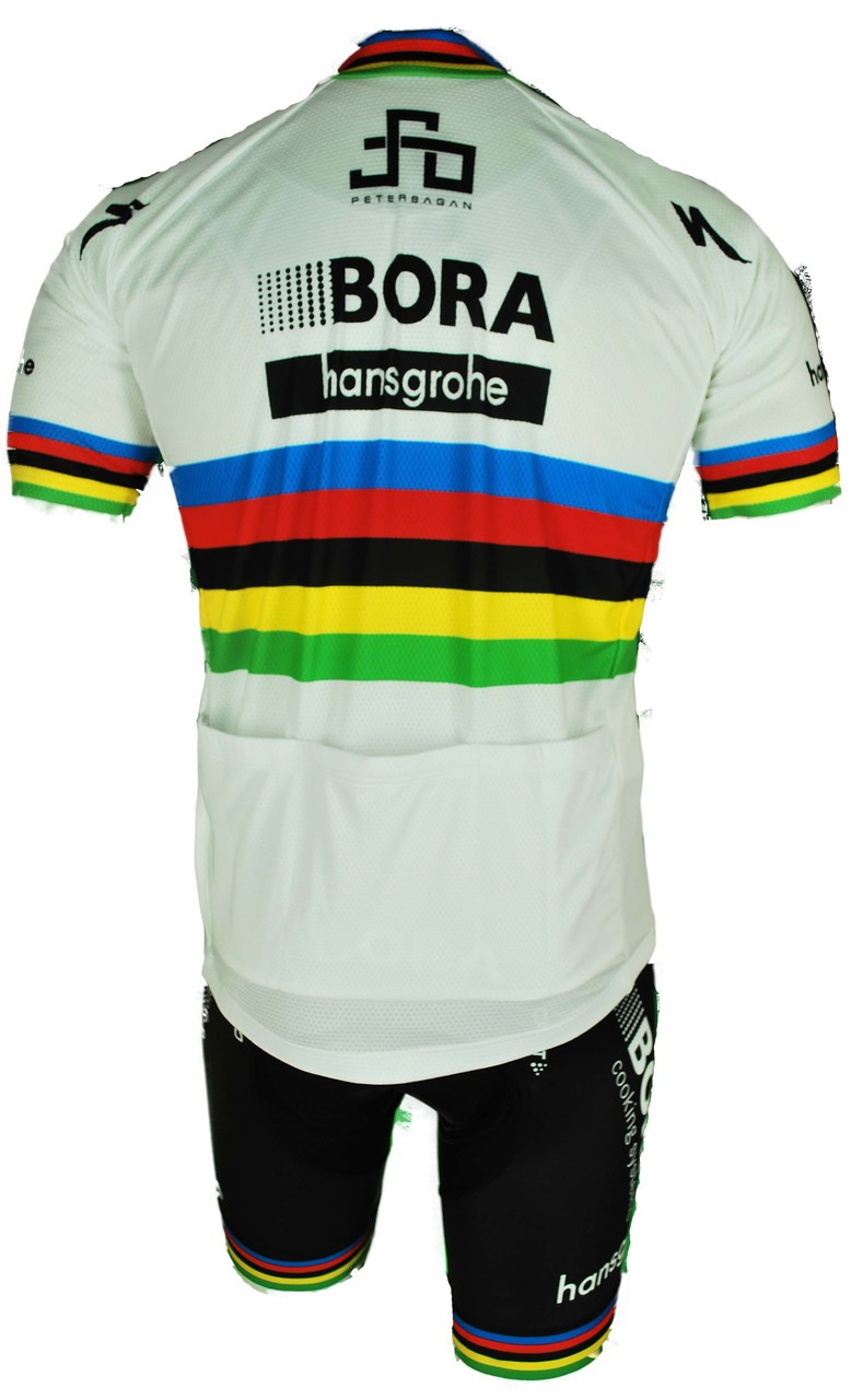 Bora Hansgrohe Sagan World Champ Jersey Back