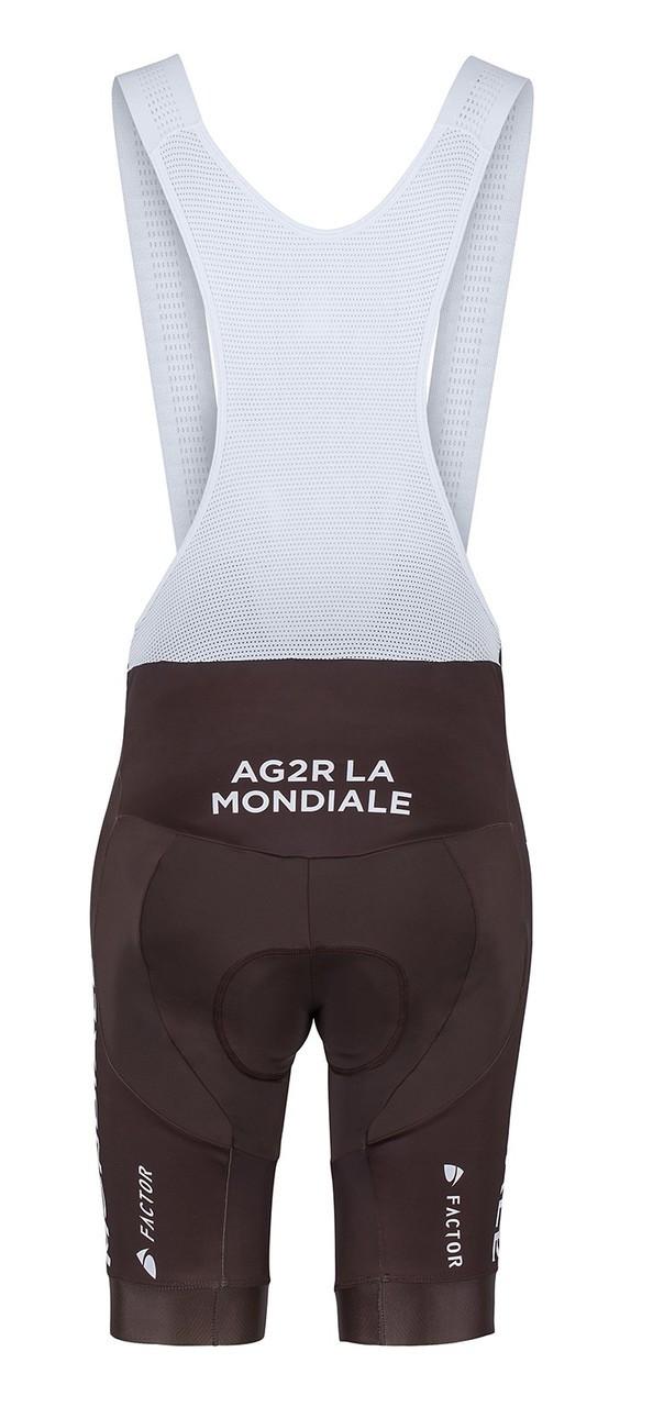 2017 AG2R La Mondiale Bib Shorts Rear
