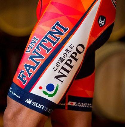 2017 Vini Fantini Nippo Bib Shorts
