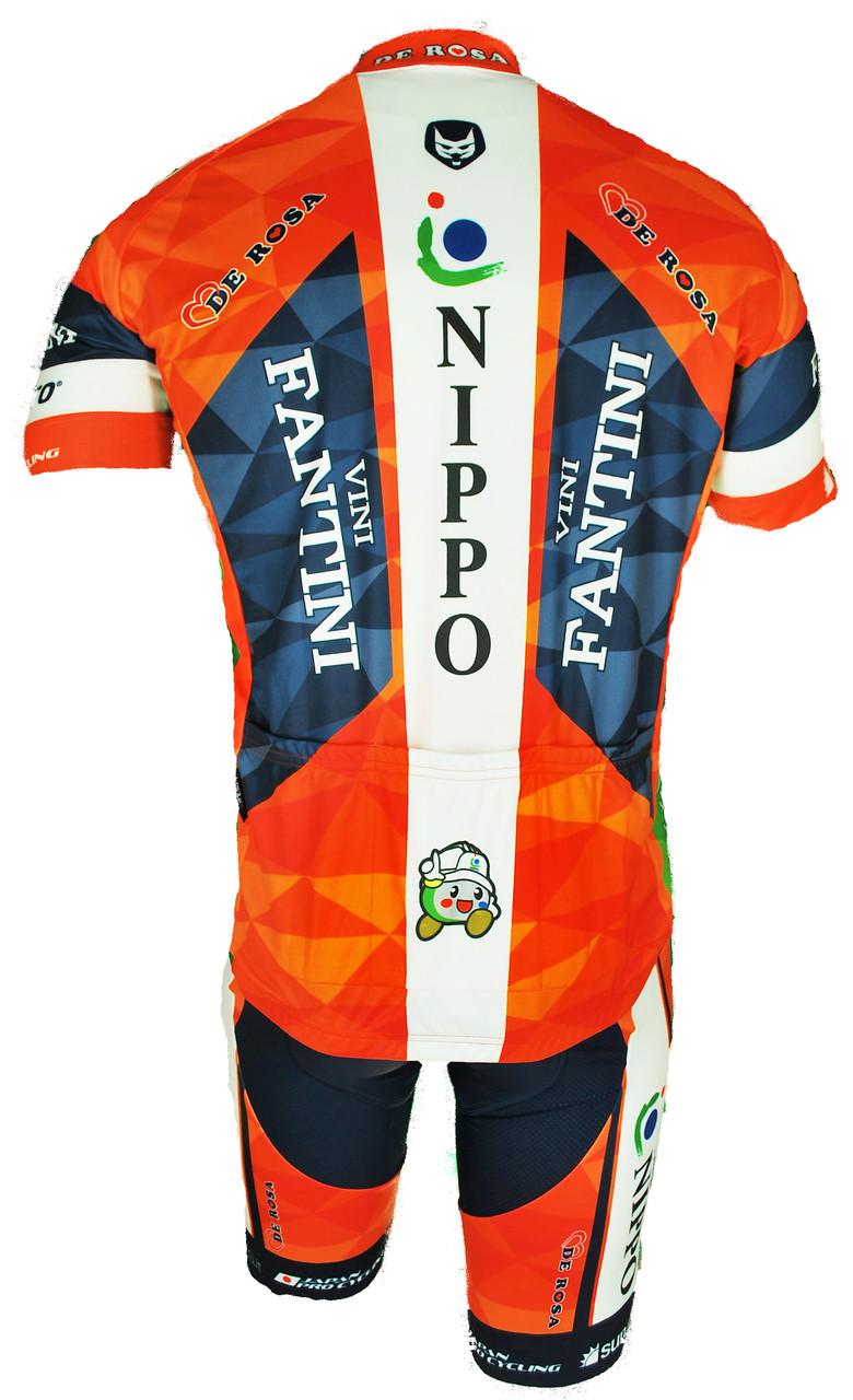 2017 Vini Fantini Nippo FZ Jersey Rear