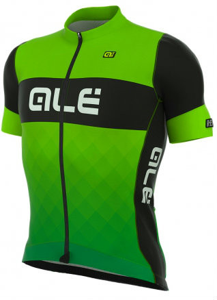 ALE Rumble R-EV1 Green Black Jersey Side