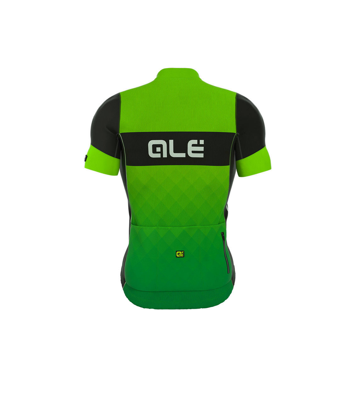 ALE Rumble R-EV1 Green Black Jersey Rear