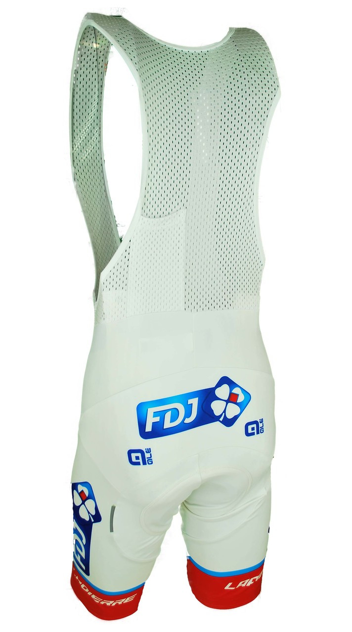 2017 FDJ Bib Shorts Rear