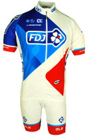 2017 FDJ Full Zipper Jersey