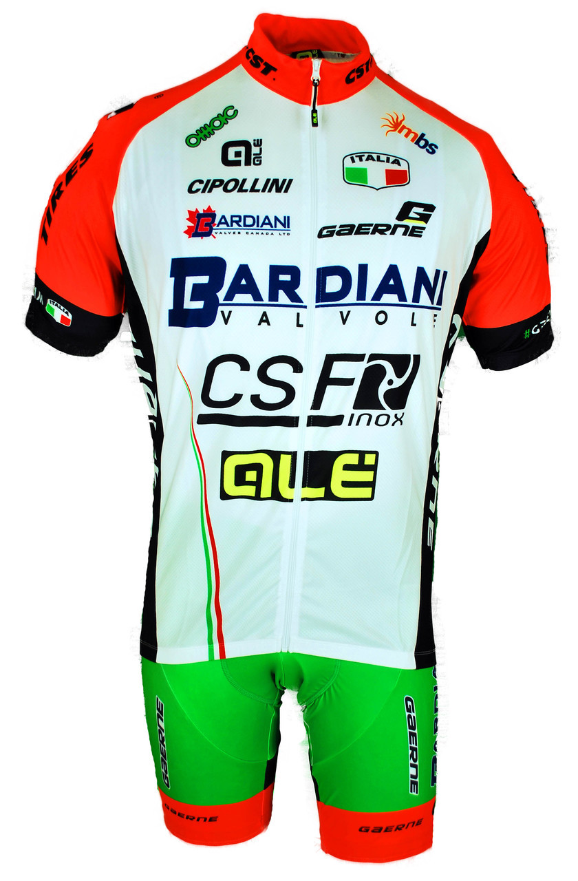2017 Bardiani CSF Full Zipper Jersey