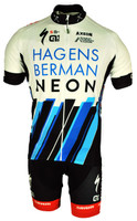 2017 Team Axeon Hagens Berman Full Zipper Jersey Front