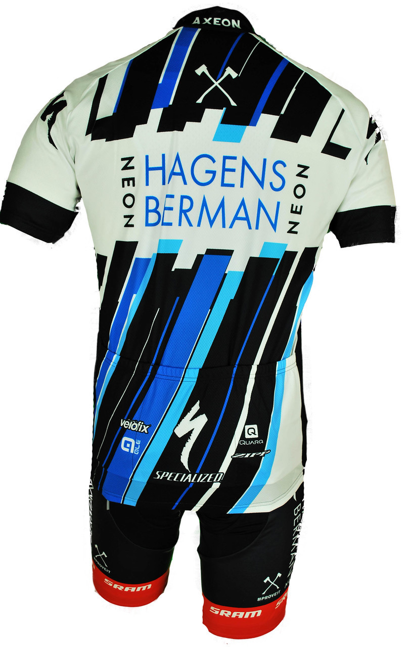 2017 Team Axeon Hagens Berman Full Zipper Jersey