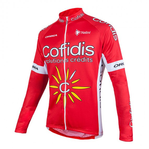 2017 Cofidis Long Sleeve Jersey