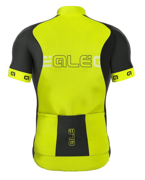 ALE Excel Basic Yellow Jersey Rear