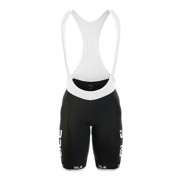 ALE Excel Radical 2H Shammy Black Bib Shorts Front