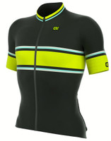 ALE Speedfondo Yellow Black Jersey Side