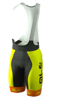 ALE Bermuda Yellow Fluorescent Bib Shorts