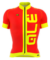 ALE Arcobaleno Red Yellow Jersey
