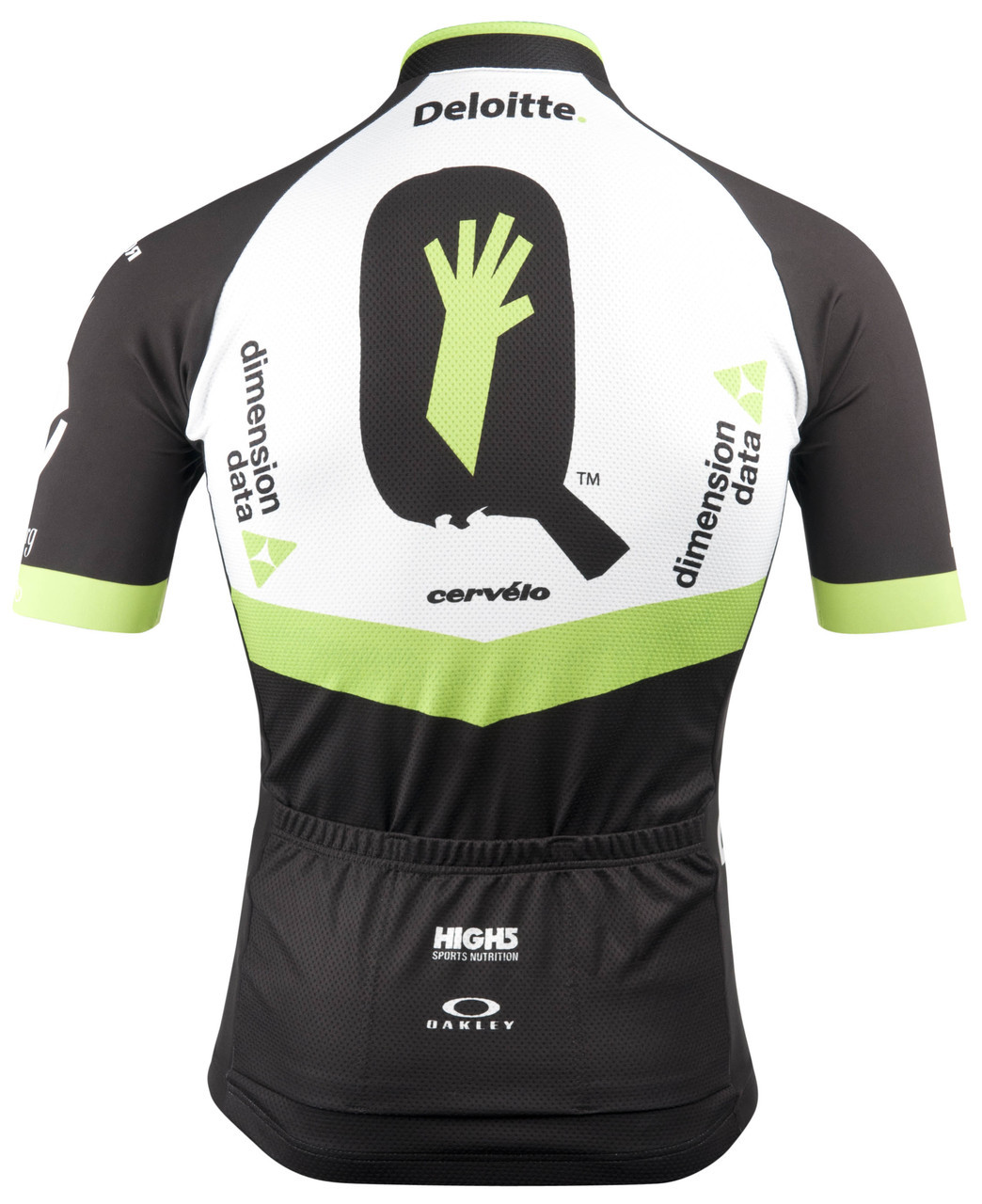 2017 Dimension Data Jersey Rear