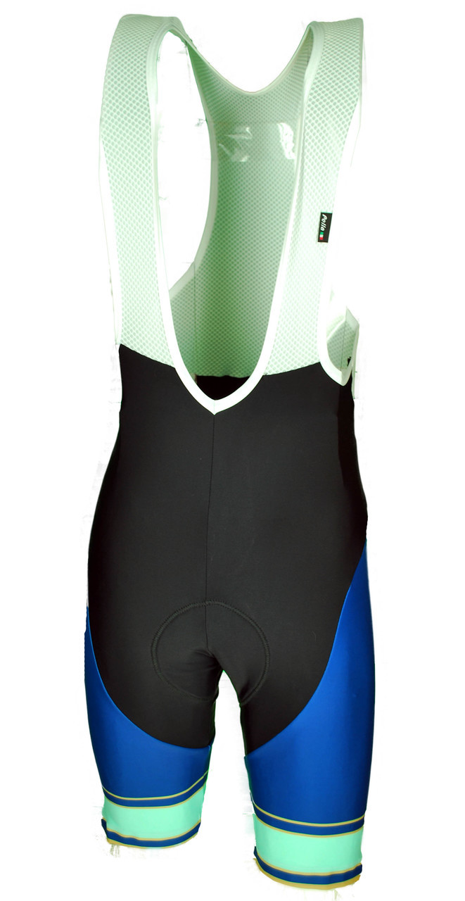 The Light Blue Retro Bib Shorts