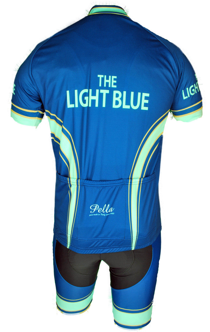 The Light Blue Retro FZ Jersey Rear