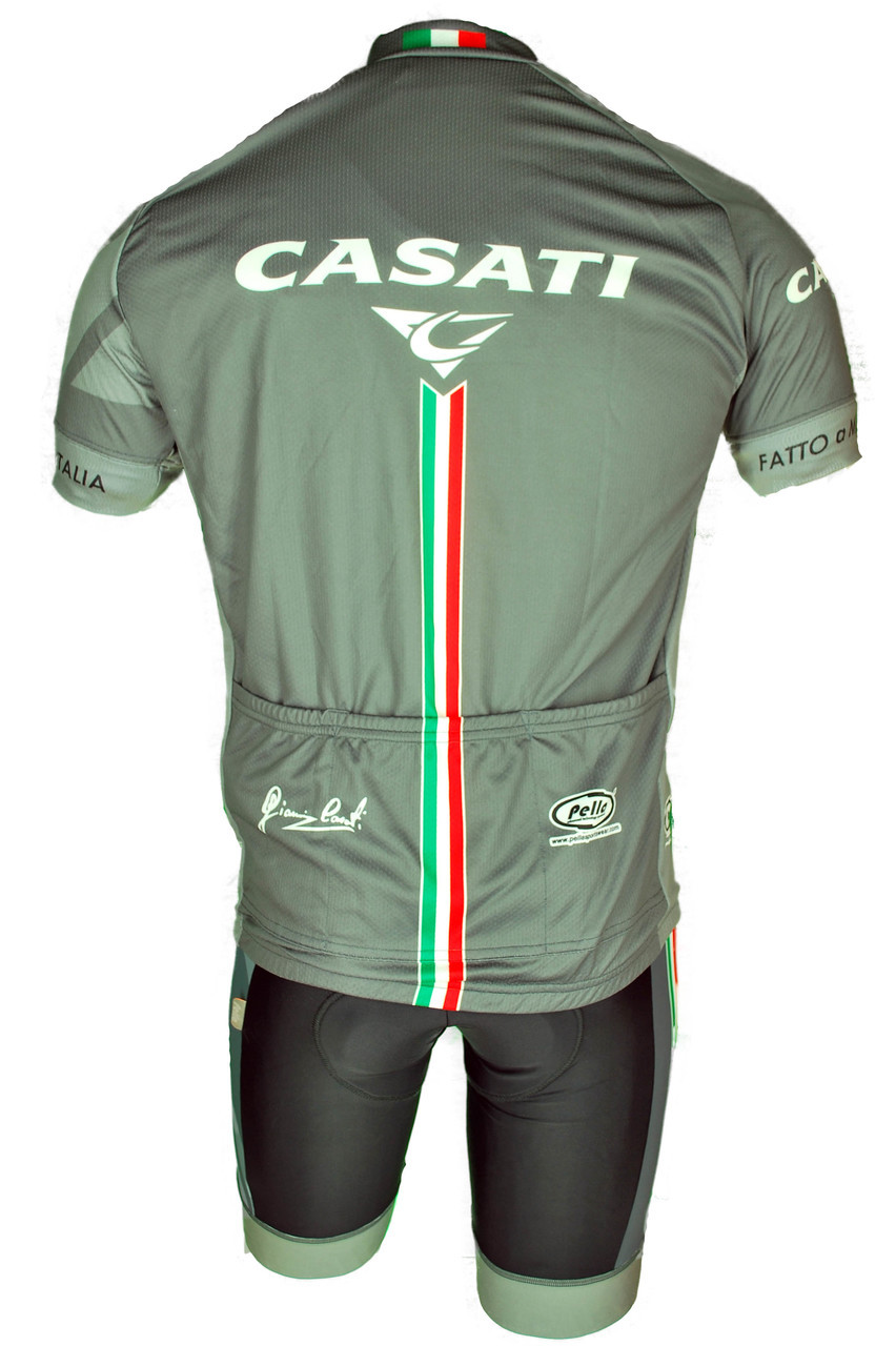 Casati Retro Full Zipper Jersey Rear