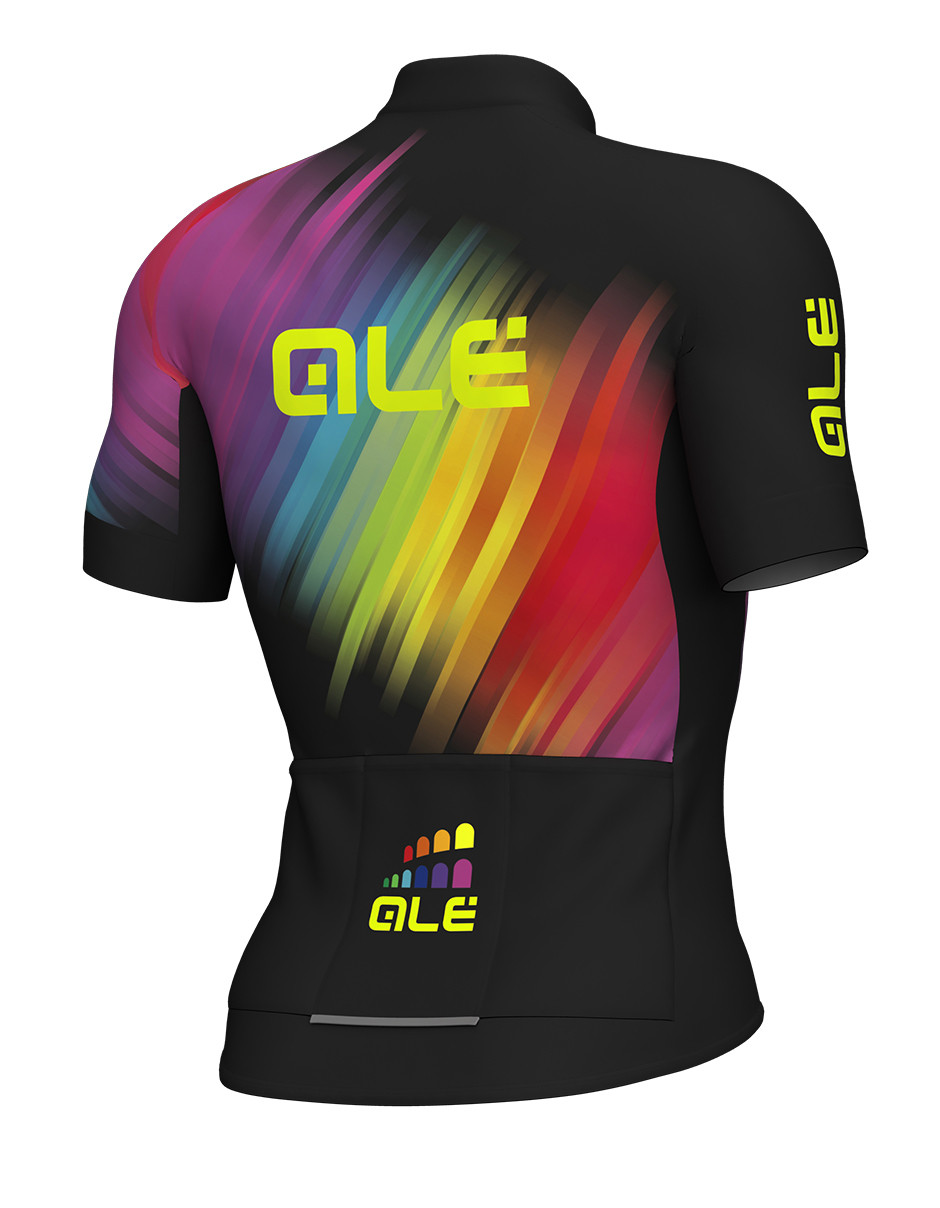 ALE Multicolor Black Jersey Rear