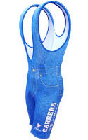 Carrera Retro Bib Shorts Front View