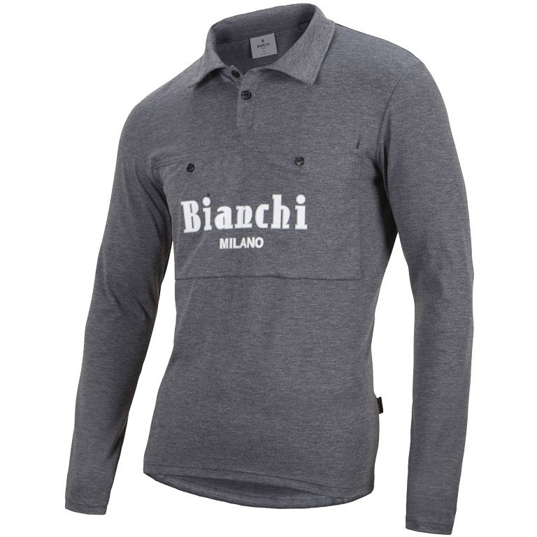 Bianchi Lavagnina Wool Vintage Long Sleeve Jersey