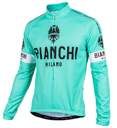 Bianchi Milano Leggenda1 Celeste Long Sleeve Jersey