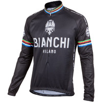 Bianchi Milano Leggenda Classic Black Long Sleeve Jersey