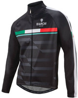 Bianchi Milano Priora Thermal Black Jacket