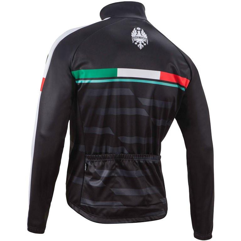 d6b64144f Bianchi Milano Treviolo Thermal Black Long Sleeve Jersey.