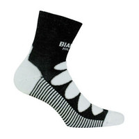 Bianchi Milano Legnano Black Wool Socks