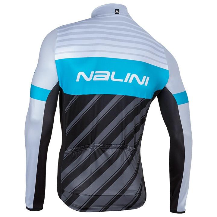 Nalini Mizar A Blue Long Sleeve Jersey Rear