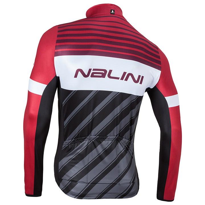 Nalini Mizar A Red Long Sleeve Jersey Rear