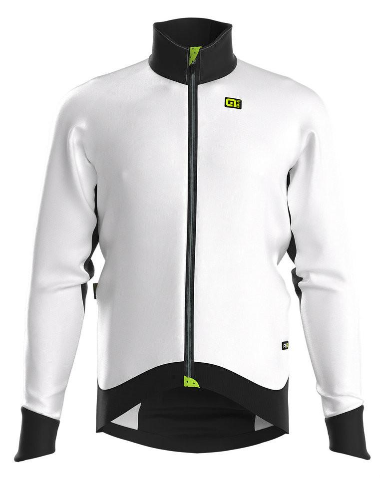 ALE Clima PRR Clima Protection Heavy Duty White Jacket Front