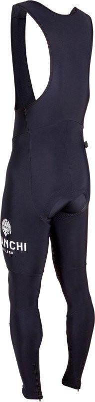 Bianchi Milano Mezzola Winter Black Bib Tights Rear