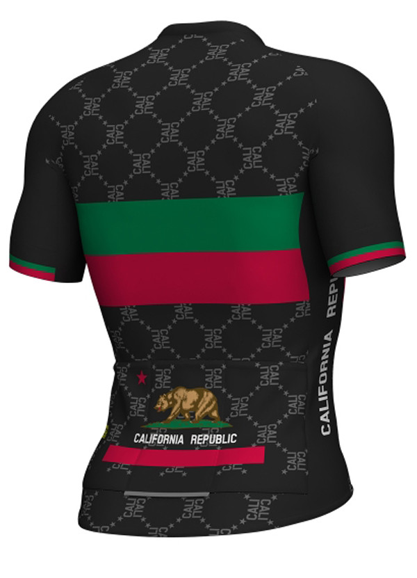 ALE California Republic Black Jersey Rear